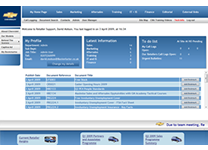 Chevrolet Network Assistance UK Retailer Portal 2006